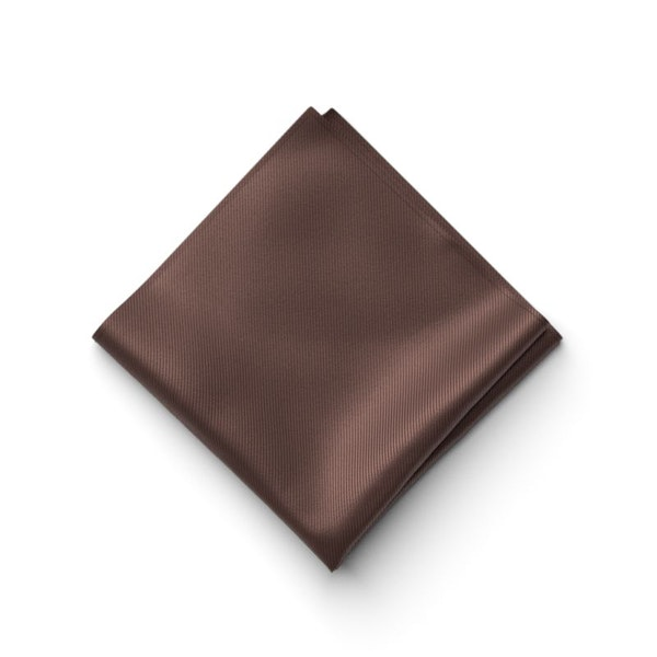 Chocolate Pocket Square