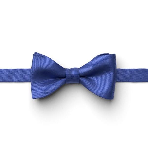 Cobalt Pre-Tied Bow Tie