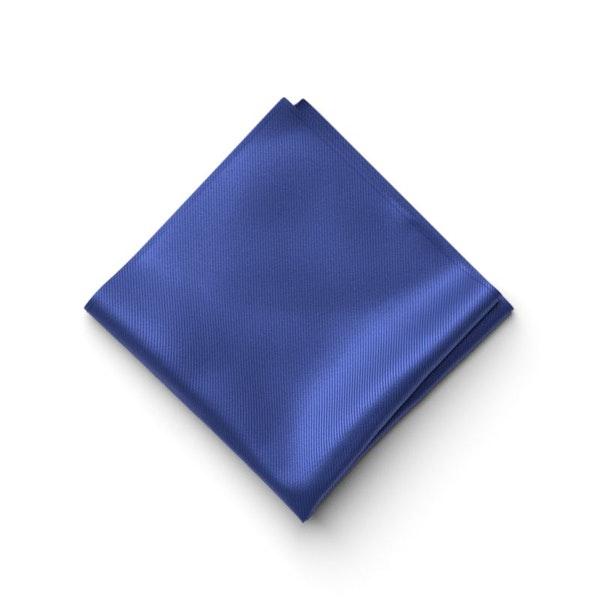 Cobalt Pocket Square