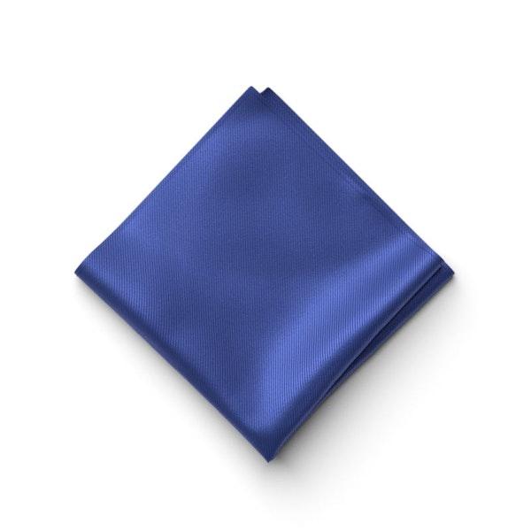 Cobalt Pocket Square