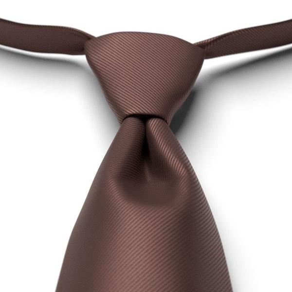 Cocoa Pre-Tied Tie