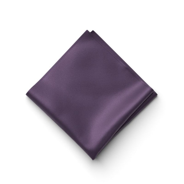 Eggplant Pocket Square