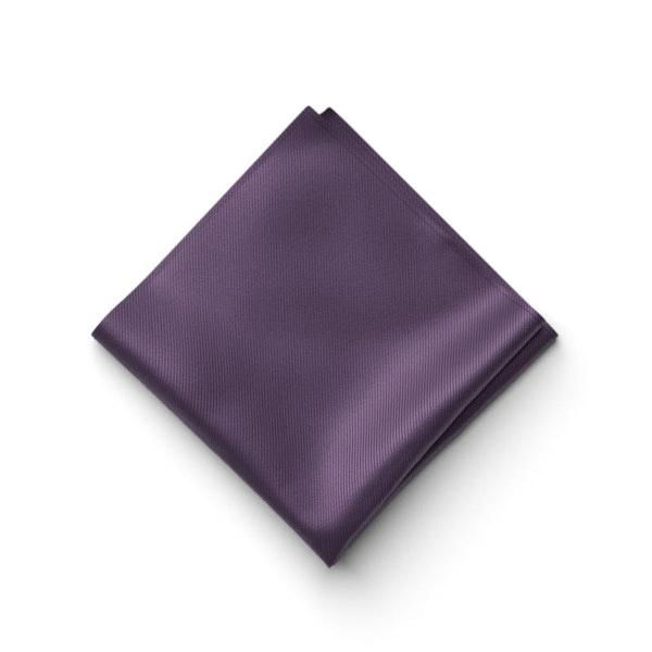 Eggplant Pocket Square