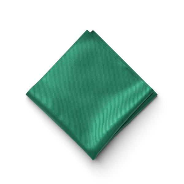 Emerald Pocket Square
