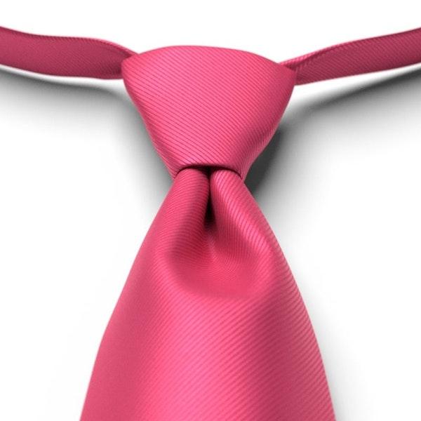 Fuchsia Pre-Tied Tie