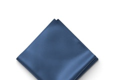 Indigo Pocket Square
