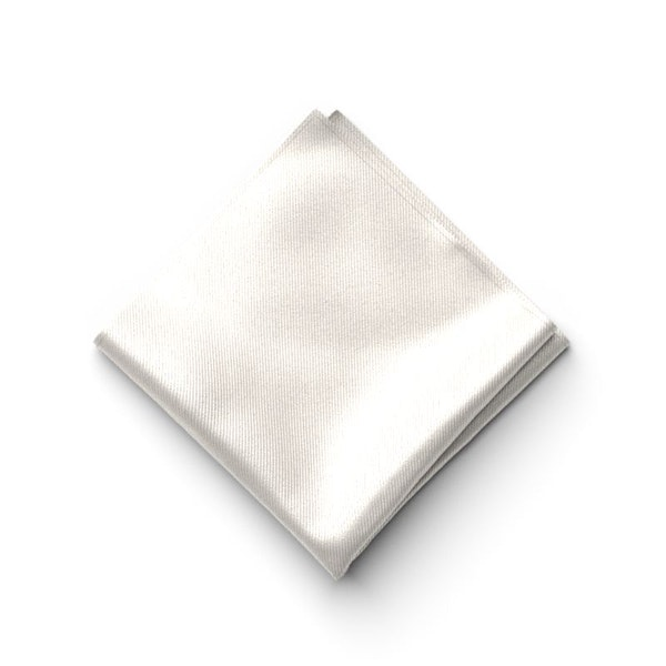 Ivory Pocket Square