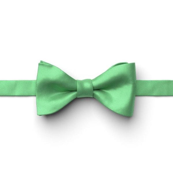 Kelly Green Pre-Tied Bow Tie