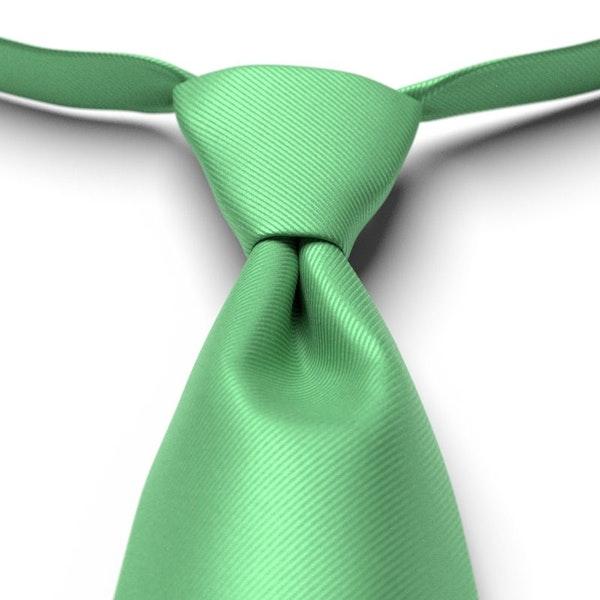Kelly Green Pre-Tied Tie