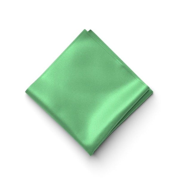 Kelly Green Pocket Square