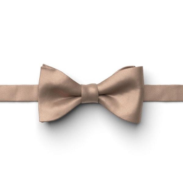 Latte Pre-Tied Bow Tie