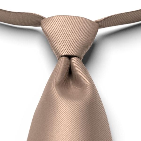 Latte Pre-Tied Tie