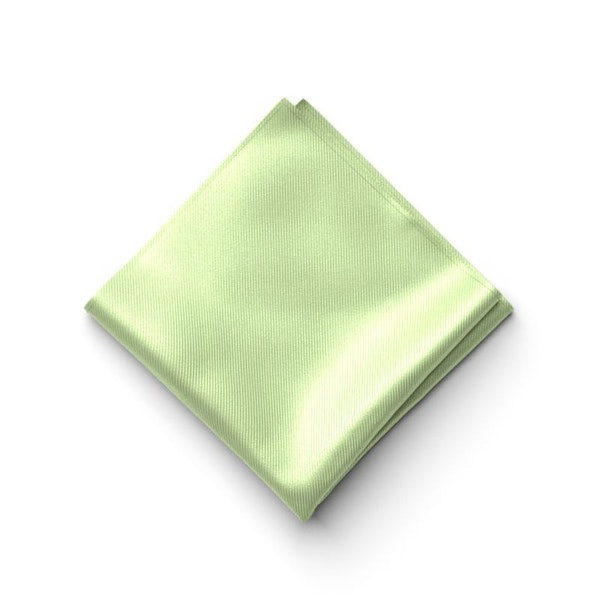 Lime Pocket Square
