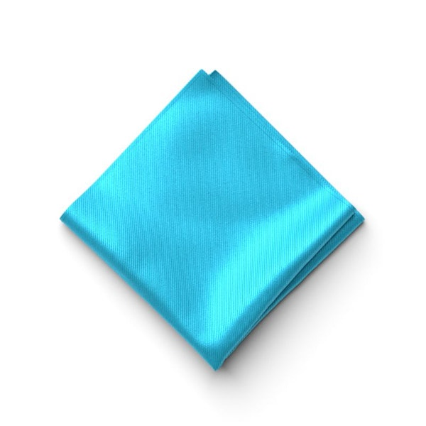 Aqua-Malibu Pocket Square