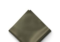 Olive Pocket Square