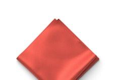 Persimmon Pocket Square