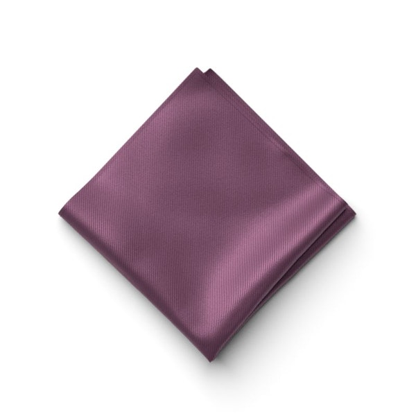 Plum Pocket Square
