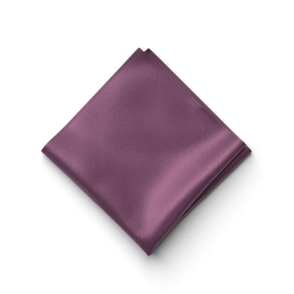 Plum Pocket Square