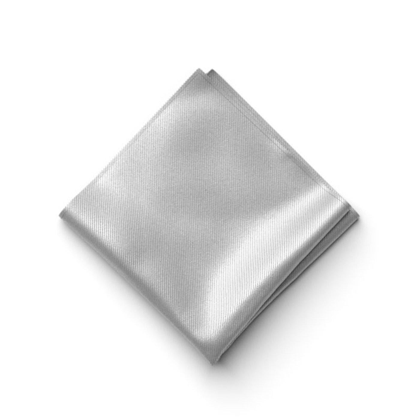 Platinum Pocket Square