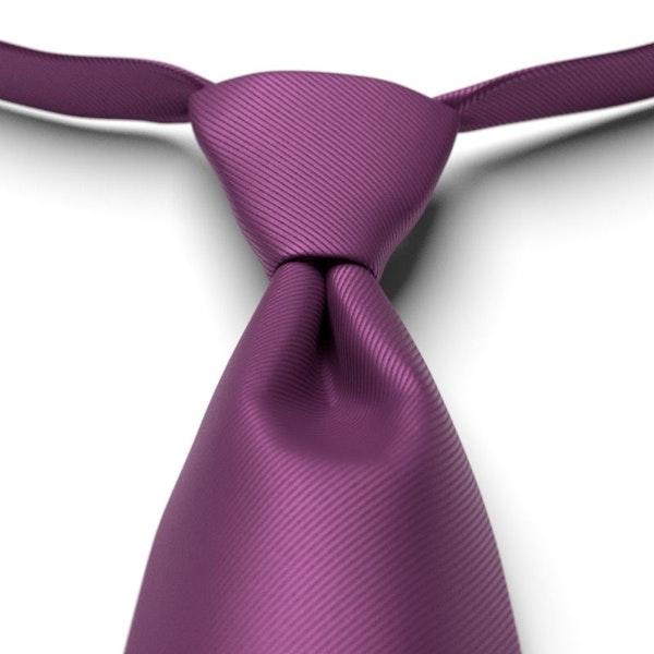 Persian Plum Pre-Tied Tie