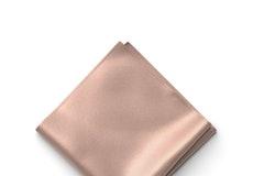 Rose Gold Pocket Square