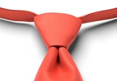 Sun Coral Pre-Tied Tie