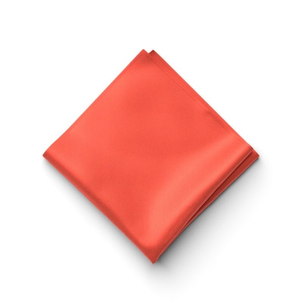 Sun Coral Pocket Square