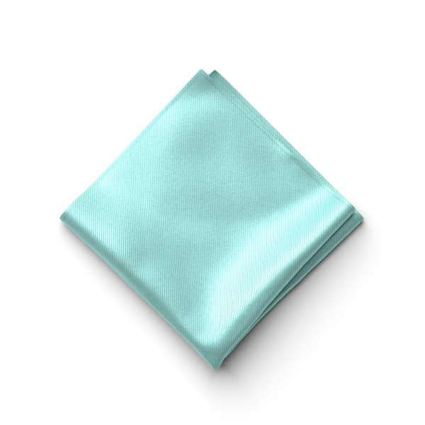 Tiffany Blue Pocket Square