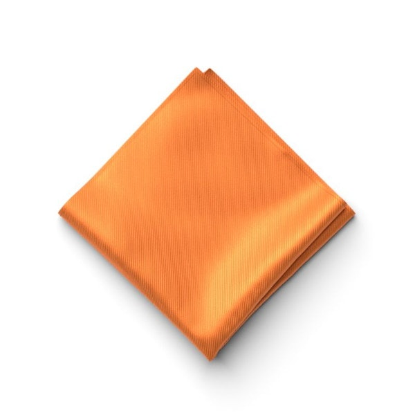 Tangerine Pocket Square