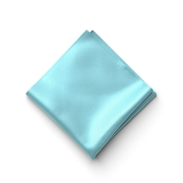 Turquoise Pocket Square