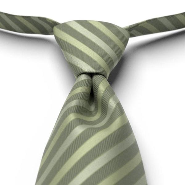 Clover Striped Pre-Tied Tie