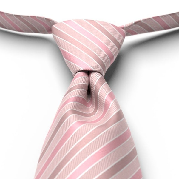First Blush Striped Pre-Tied Tie