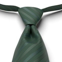 Hunter-Juniper Pre-Tied Striped Tie