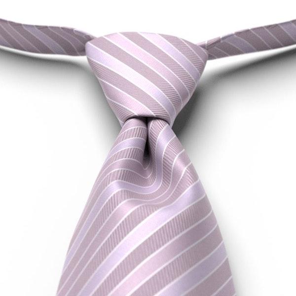 Iris Striped Pre-Tied Tie
