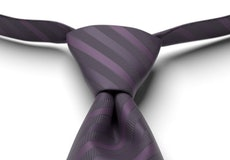 Lapis Striped Pre-Tied Tie