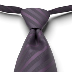 Lapis Pre-Tied Striped Tie