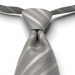 Mercury Pre-Tied Striped Tie