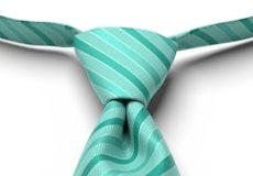 Spa Pre-Tied Striped Tie