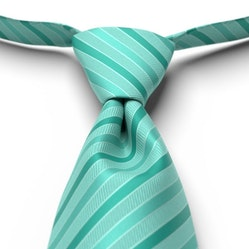Mermaid Pre-Tied Striped Tie