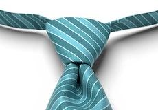 Oasis Striped Pre-Tied Tie