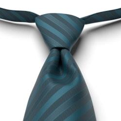 Peacock Pre-Tied Striped Tie