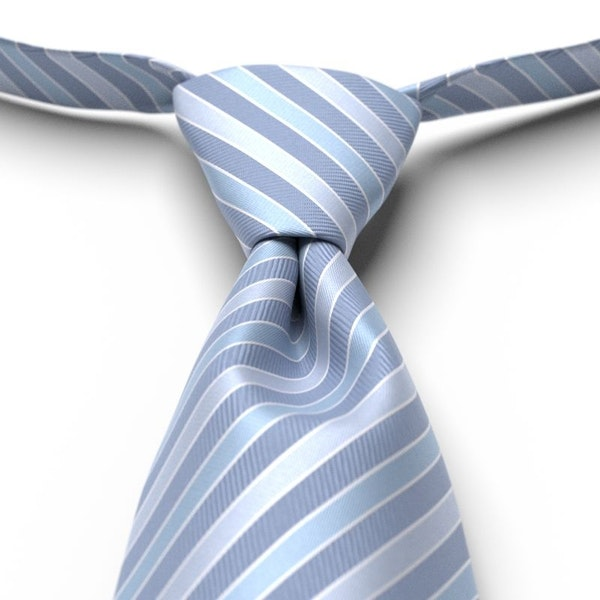 Wedgewood Striped Pre-Tied Tie
