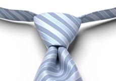 Wedgewood Pre-Tied Striped Tie