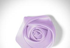 Lilac Rose Lapel Pin
