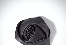 Pewter Rose Lapel Pin