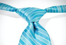 Malibu Pre-Tied Striped Tie
