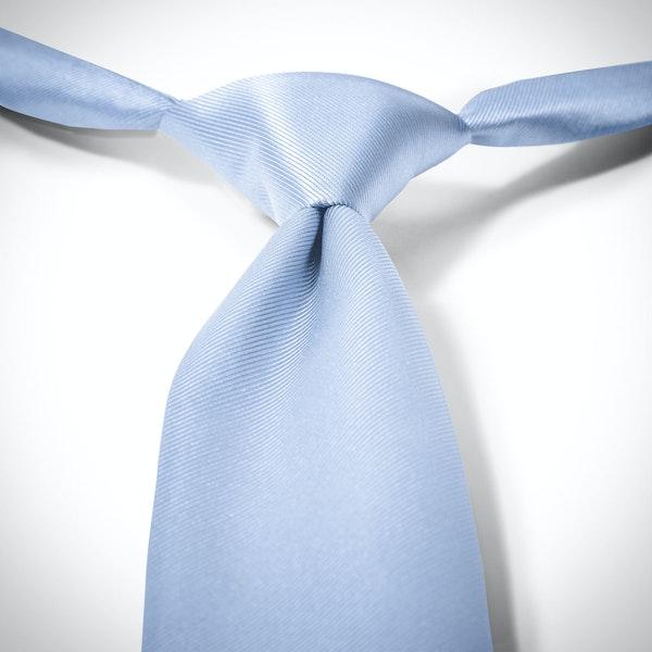 Ice Blue Pre-Tied Tie