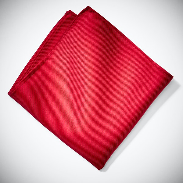 Ruby Valentino Pocket Square